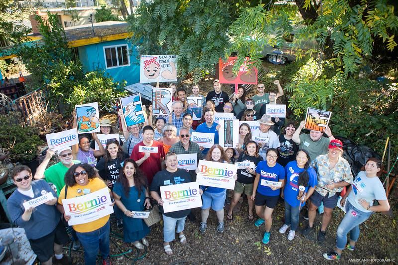 Bernie Sanders Community Launch - Hayward