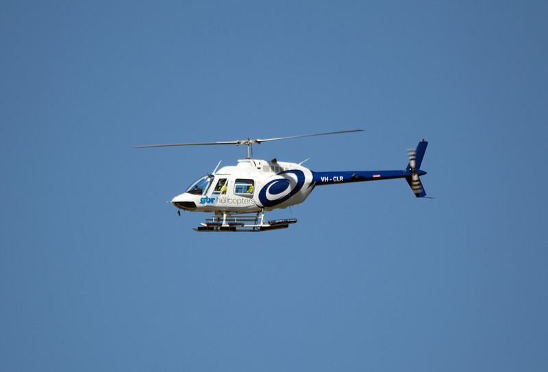 VH-CLR GBR BELL-206L