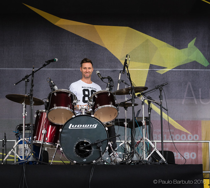Australia now - Ben Walsh - Drums Session - Maio 2016
