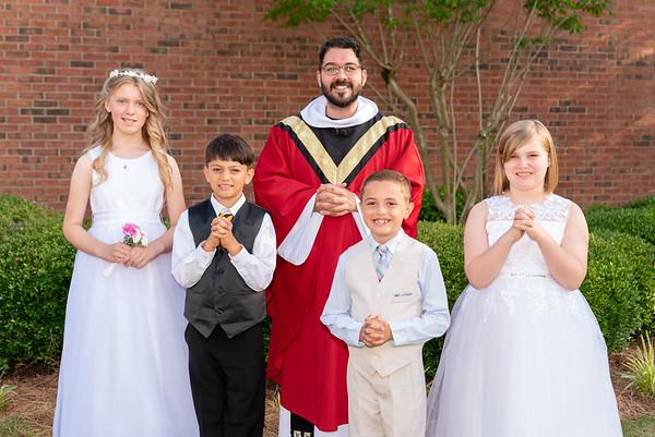 2021-05-22 St. Anne 1st Communion