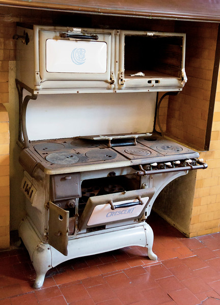A venerable stove