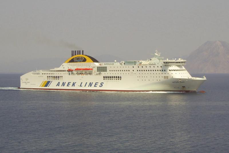 2012 - HELLENIC SPIRIT at sea.