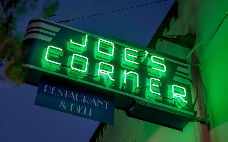 Back in Business  Joe's Corner is open for business!