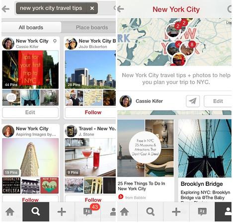 Best Apps for Travel: Pinterest