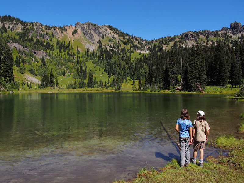 Sheep Lake Backpack 2013