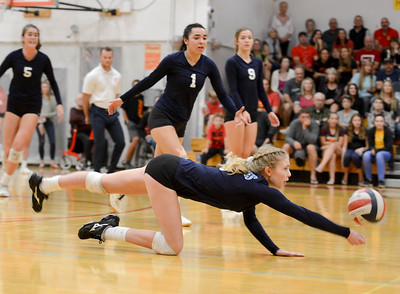 Pleasant Valley volleyball sweeps Chico to secure league title