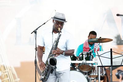 2013 Lake Arbor Jazz Festival - Bob Baldwin and Shelby Brown