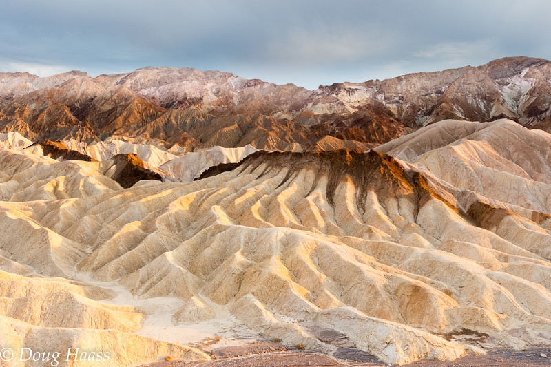 Zabriskie Point in Death Valley NP July 2014.