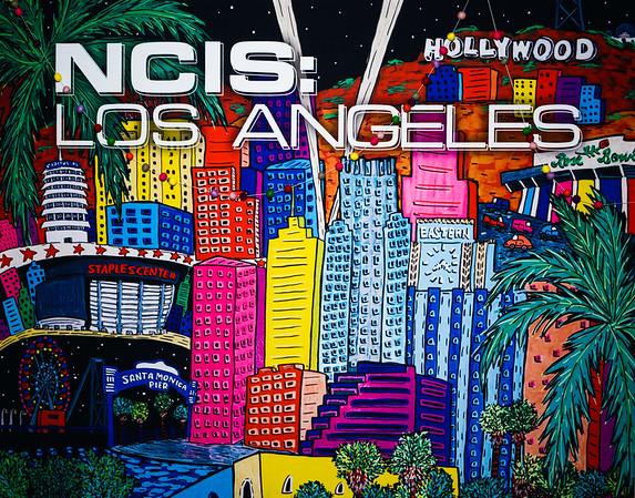 NCIS LA Wrap Party