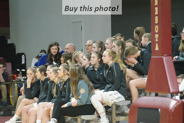 BBE Girls'Bball at STATE - pregame 03-12