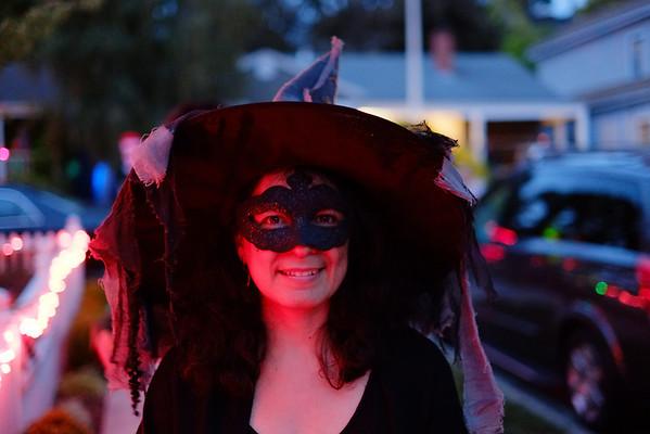 Halloween Night in San Carlos 2012