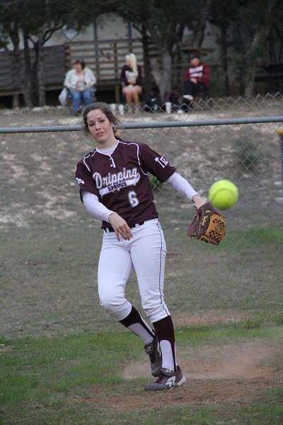 2013-02-22 Varsity Softball vs Canyon