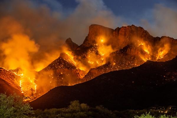 Bighorn fire pusch ridge