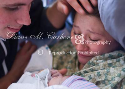 Birth of Baby A.J.L 2013