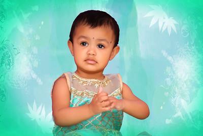 Happy 1st Birthday Isha