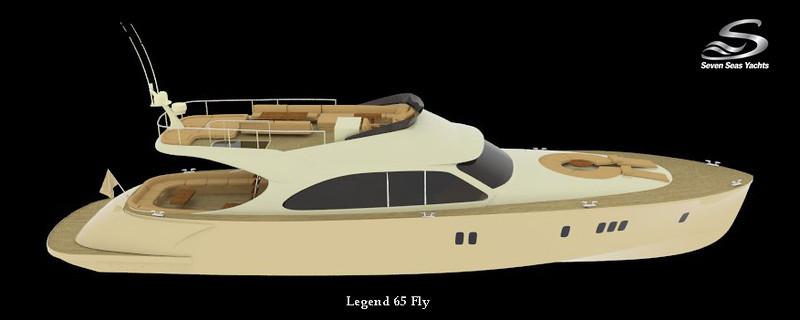 Legend 54 Fly Exterior