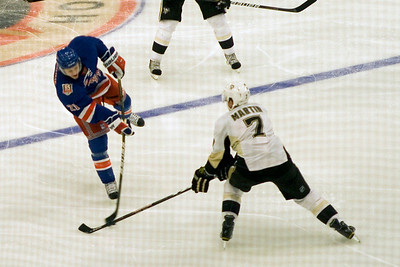 NY Rangers VS Pittsburgh Penguins