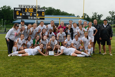 Girls Soccer: 2014 Conference 21 Championship, Heritage vs. Dominion 5.29.14