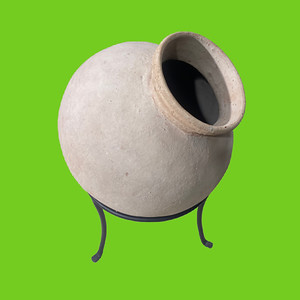 Indian Clay Water Pot Planter