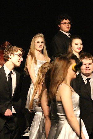 Emily in Jefferson Ovation at Jefferson Show Choir Invitational 3/3/17