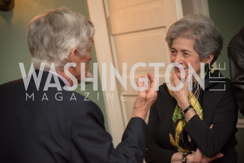 Book Party, Hosted by the Committee for the Republic, Moderated by Ambassador Chas Freeman, The Wahhabi Code, by Terence Ward. April 25, 2019, photo by Ben Droz.