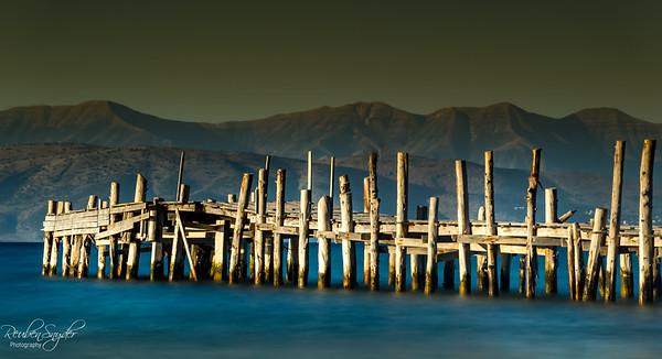 Apraos Beach Pier, Corfu