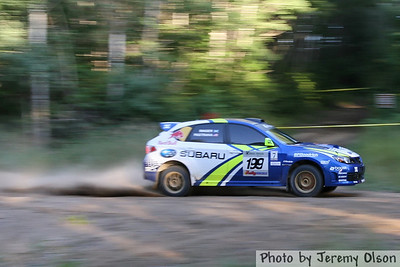 Ojibwe Forests Rally 2008  - Friday