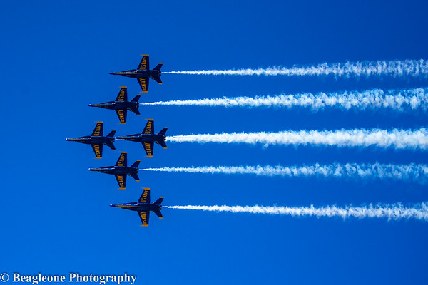 Blue Angels Flyover DFW