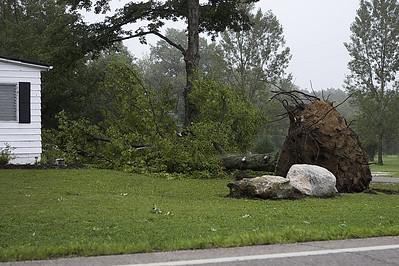 Severe Weather Damage Near Lodi OH