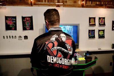 Satanic Panic arcade machine