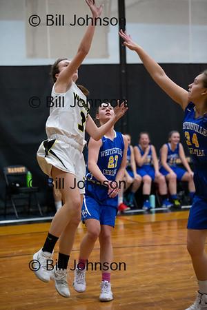 Nauset G V Basketball v Whitinsville Christian 1_20_19