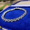 10.50ctw Round Brilliant Diamond Tennis Bracelet 1