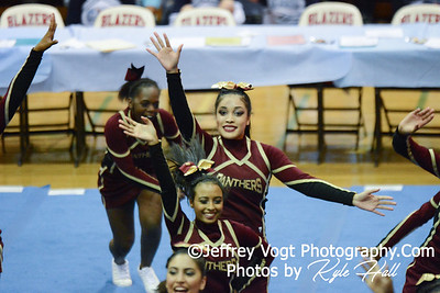 11-15-2014 Paint Branch HS Varsity Cheerleading at Blair HS MCPS Championship, Photos by Jeffrey Vogt Photography with Kyle Hall