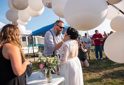 Oxford Plains Speedway wedding