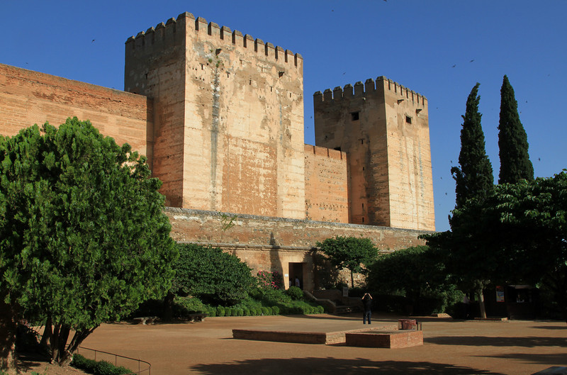Torre de la Vela, Alhambra, Granada.