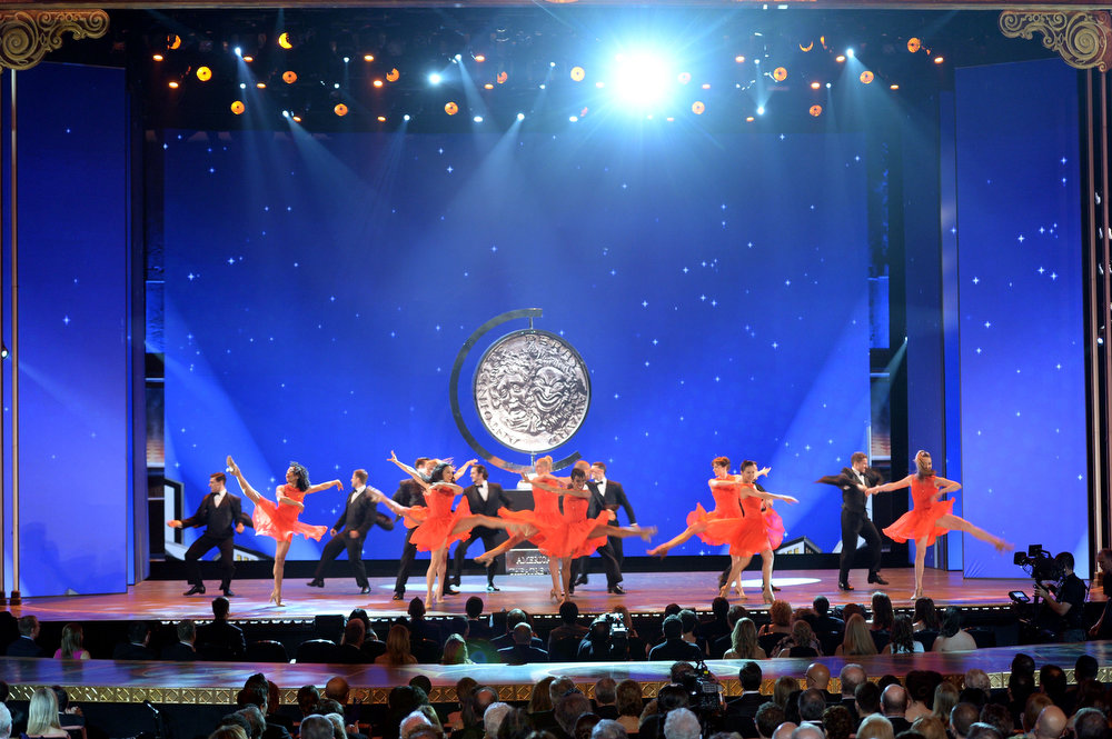. Actors perform onstage at The 67th Annual Tony Awards at Radio City Music Hall on June 9, 2013 in New York City.  (Photo by Andrew H. Walker/Getty Images for Tony Awards Productions)