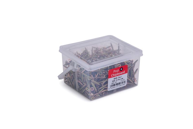 8x45mm Pozi 500 C/Screw