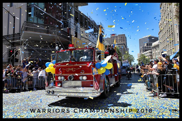 Warriors Championship Parade 2018