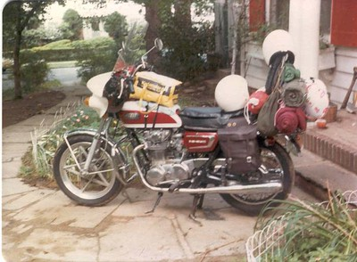 Tom's Motorcycles Then and Now
