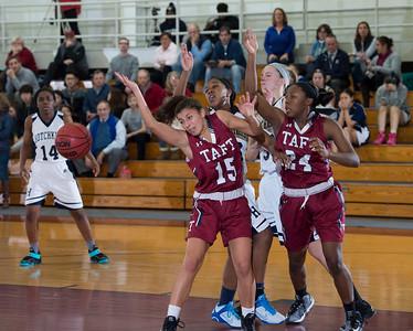 2/13/16: Girls' Varsity Basketball v Hotchkiss