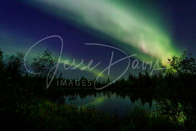 20190901, Aurora at Chena Lake
