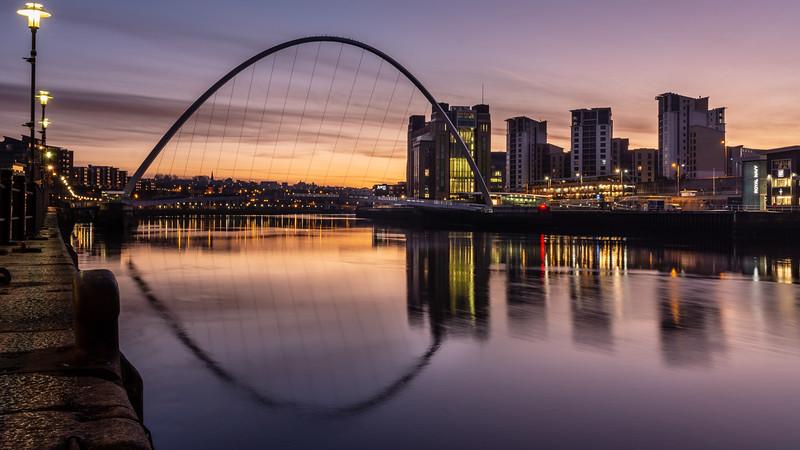 Gateshead sunrise