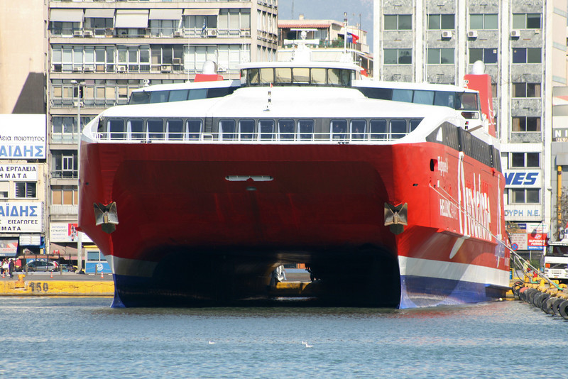 2009 - HSC HIGHSPEED 4 in Piraeus : front view.