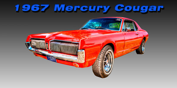 1967 Mercury Cougar - Rocky Mountain Customs -  John Suprock