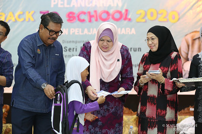 PELANCARAN BACK TO SCHOOL 2020