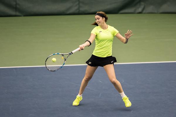 Purdue Women's Tennis vs Butler 2016-1-16