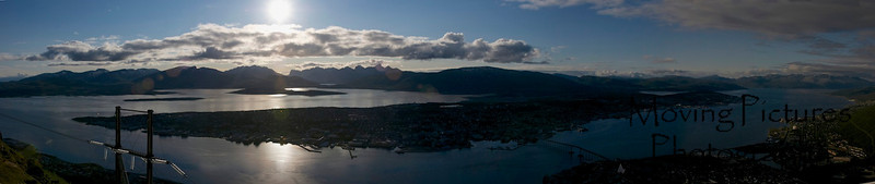 Tromso, Norway - view from Fjellheissen