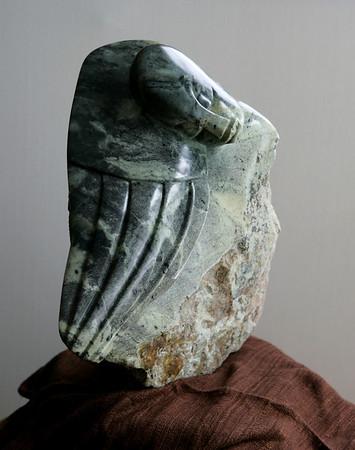 Sculpture by Simon Chidharara
