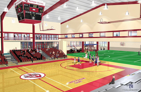 Athletic Center Renderings