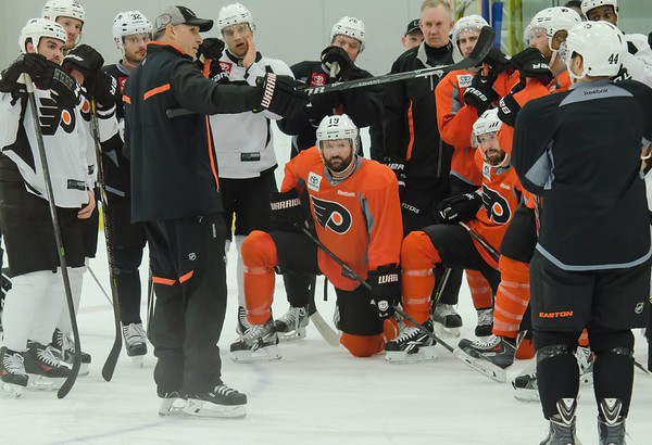 Flyers Playoff Prep for the NY Rangers 4/26/14